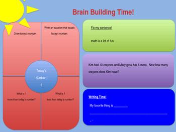 Brain Builder Morning Work Pack 1