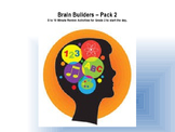 Brain Builder Morning Work Pack 2