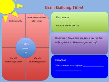 Brain Builder Morning Work Pack 2