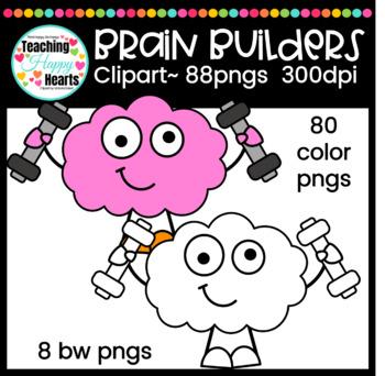 Brain Builders Clipart