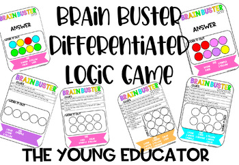 Brain Buster Differentiated Logic Game