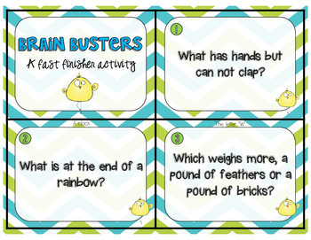 Brain Buster Riddles