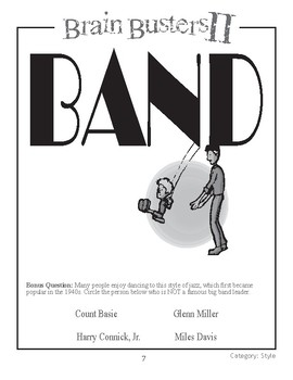 Brain Busters II: Music Styles