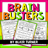 Brain Busters: Math Logic Problems