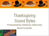 Brain Bytes: Sound Bytes for Thanksgiving (Brain Teasers, Brain Breaks, Puzzles)