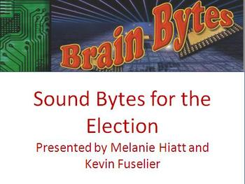 Brain Bytes:Sound Bytes for the Election (Brain Teasers, Brain Breaks, Puzzles)