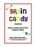Brain Candy Back-to-School Challenge {FREE}