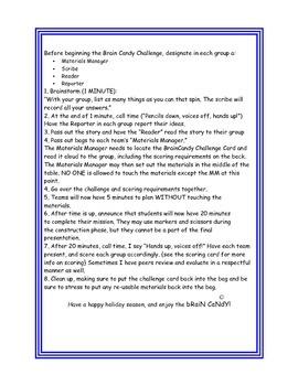 Brain Candy Hanukkah Challenge