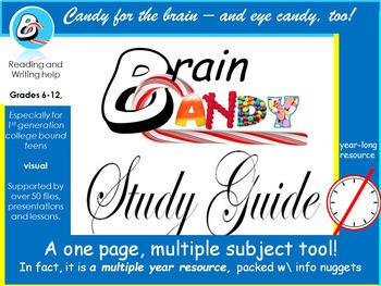 BrainCandy StudyGuide for College Bound Teens UESG