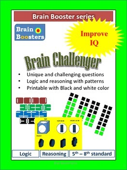 Brain Challenger for Kids from Brain booster series ( 5th to 7th standard kids)