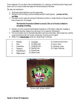 Brain Choice Project: Zombies, Superheroes, Random Brains, CDs, Oh MY!