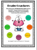 Brain Crackers! The Best Higher-Level Learning Tool for Your Students!