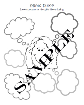 Brain Dump Journal: A Daily Meditating and Setting Goals Journal