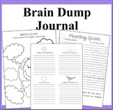Brain Dump Journal: A Daily Meditating and Setting Goals Journal-Clear Your Mind