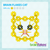 Brain Flakes® Printable Step-By-Step Cat Instructions   FREE
