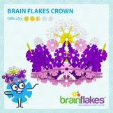 Brain Flakes® Printable Step-By-Step Crown Instructions