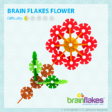 Brain Flakes® Printable Step-By-Step Flower Instructions   FREE