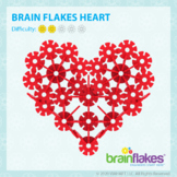 Brain Flakes® Printable Step-By-Step Heart Instructions   FREE