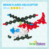 Brain Flakes® Printable Step-By-Step Helicopter Instructions   FREE