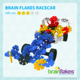 Brain Flakes® Printable Step-By-Step Racecar Instructions   FREE