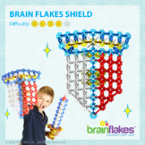 Brain Flakes® Printable Step-By-Step Shield Instructions