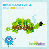 Brain Flakes® Printable Step-By-Step Turtle Instructions
