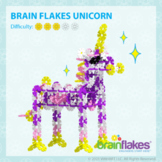 Brain Flakes® Printable Step-By-Step Unicorn Instructions