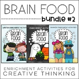 Brain Food BUNDLE #2 - Printable Activities for Creative T