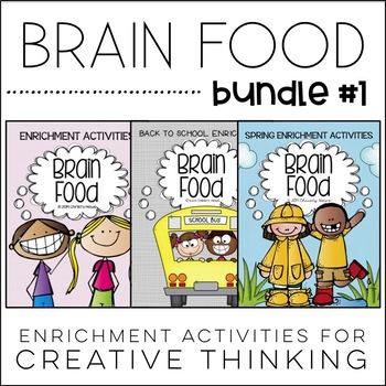 Brain Food BUNDLE! Printable Activities for Creative Thinking