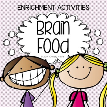 Brain Food: The Original - Printable Activities for Creative Thinking