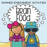 Creative and Critical Thinking Activities: Brain Food - SU