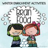 Brain Food: Winter Fun! Printable Activities for Creative