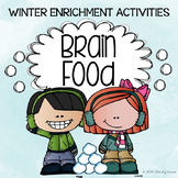 Brain Food: Winter Fun! Printable Activities for Creative Thinking