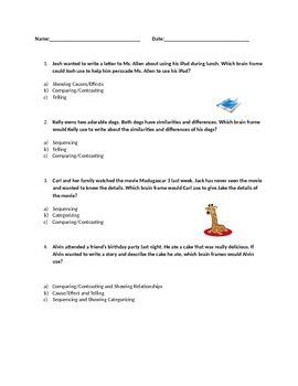 Brain Frame Homework