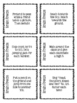 Brain Freeze Activity Cards
