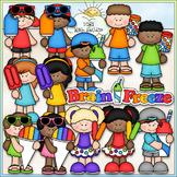 Brain Freeze Kids Clip Art - Snow Cone, Popsicle, Push Up -CU ClipArt & B&W