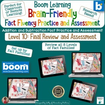 Brain Friendly Addition and Subtraction Level 10 Review and Assess