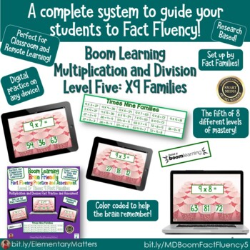Brain Friendly Multiplication and Division  The Bundle BOOM Cards