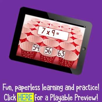 Brain Friendly Multliplication and Division Facts Level 10  Review all Families