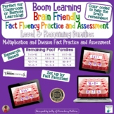Brain Friendly Multliplication and Division Facts Level 8  Remaining Families