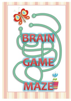 Brain Game Maze - 7 brain game for pupils relaxing after school