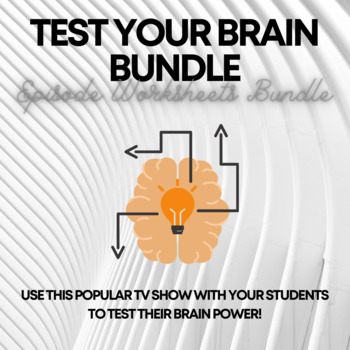 Brain Games Episodes & Worksheets   Teachers Pay Teachers