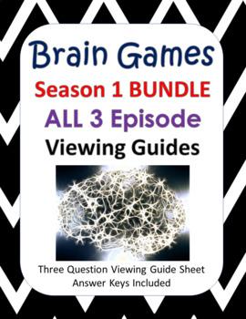 Brain Games Season 1 BUNDLE - 3 Episodes (45 minutes each)