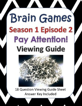 Brain Games Season 1, Episode 2 - Pay Attention!