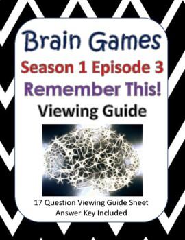 Brain Games Season 1, Episode 3 - Remember This
