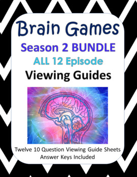 Brain Games Season 2 BUNDLE - 12 episodes