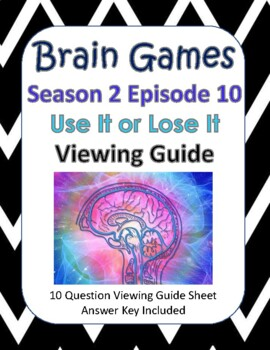 "Brain Games - Season 2, Episode 10, ""Use It or Lose It"""