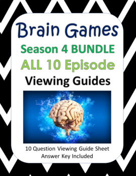 Brain Games Season 4 BUNDLE - 10 Episodes
