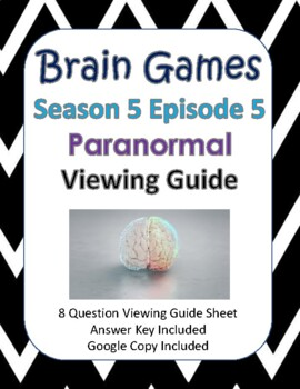 Brain Games Season 5, Episode 5 - Paranormal Viewing Guide