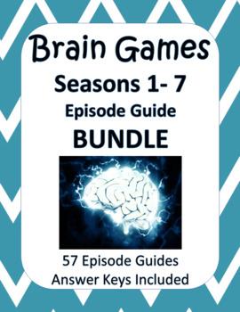 Brain Games Seasons 1-7 BUNDLE - ALL 7 SEASONS - 57 Episodes